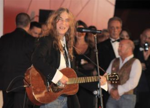 Patti Smith Says Reading Mark Twain Gave Her Anxiety
