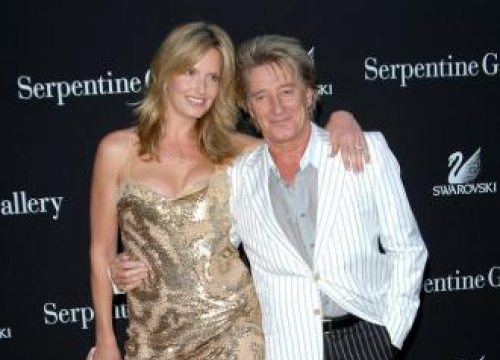 Sir Rod Stewart And Penny Lancaster Renew Their Vows