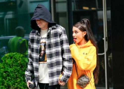 Ariana Grande And Pete Davidson 'Are Riding A Magical Way'