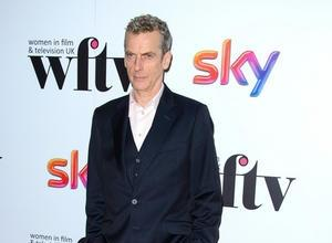 Peter Capaldi In PJs, A Fake Horse And A Tow Truck: Scenes From The New Doctor Who [Video]