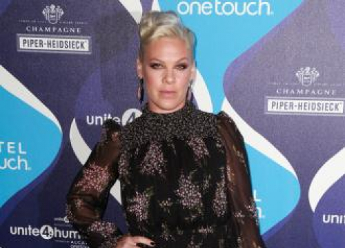 Pink's V Festival Stage Catches Fire