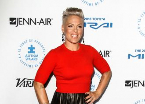 Pink 'Made Amends' With Christina Aguilera