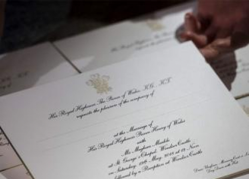 Prince Harry And Meghan Markle Have Sent Out Wedding Invitations