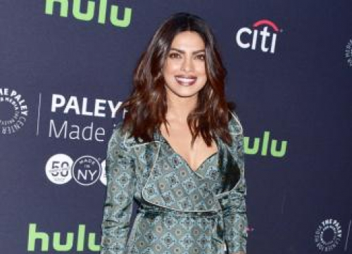 Priyanka Chopra Recovering After Quantico Set Injury
