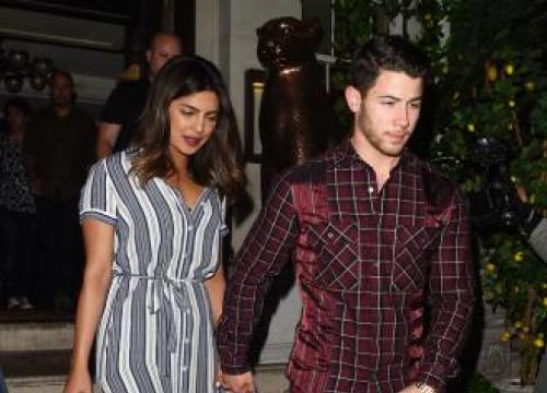 Nick Jonas And Priyanka Chopra Visit Orphanage