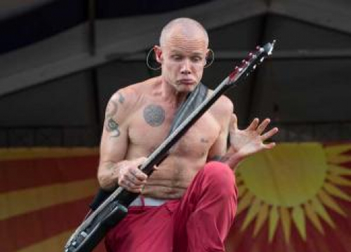 Red Hot Chili Peppers' Flea: We're Not Retiring!