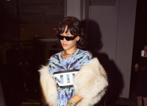 Rihanna Was Hands-on With Sunglasses Design