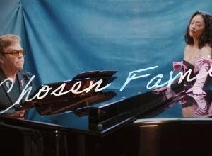 Rina Sawayama, Elton John - Chosen Family Lyric Video