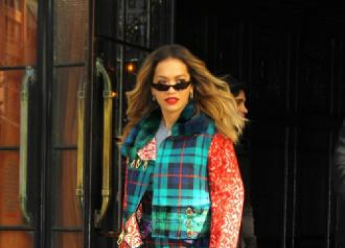 Rita Ora Has Multiple Uses For Her Cosmetic Products