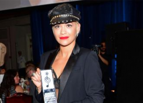 Rita Ora Didn't Shower Before O2 Silver Clef Awards
