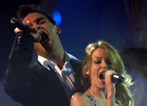 Robbie Williams Teases New Duet With Kylie Minogue