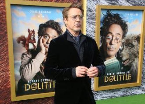 Robert Downey Jr. Won't Address Black Widow Rumours