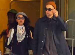 Robert Pattinson is engaged to FKA twigs?