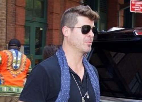 Robin Thicke And Nile Rodgers To Play Charity Gig