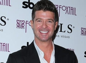 Robin Thicke Just Performed U2 and Beatles Songs in Court