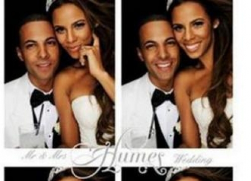 Rochelle Humes' Anniversary Tribute To Marvin