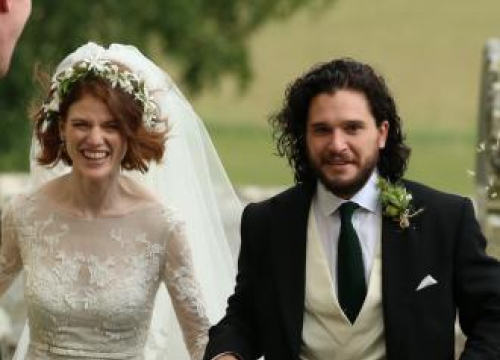 Kit Harrington And Rose Leslie Are Married