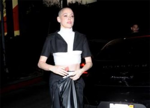Rose Mcgowan Pulls Out Of Public Appearance