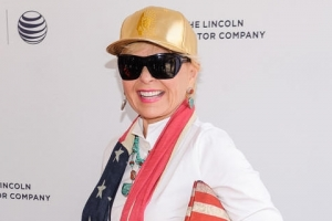 Roseanne Barr Dons Patriotic Attire At Tribeca Screening Of 'Roseanne For President'