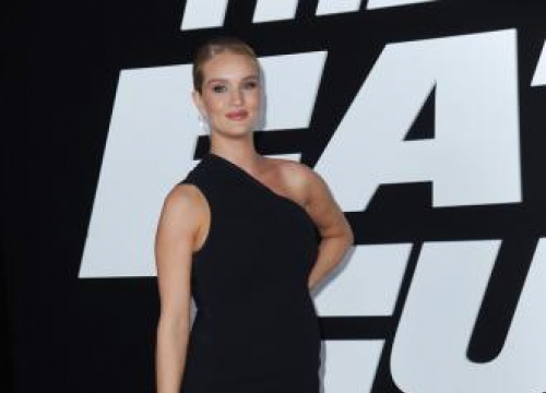Rosie Huntington-whiteley's Life Is 'Full' After Son's Birth