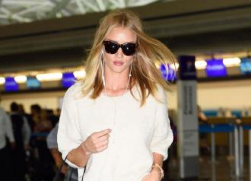 Rosie Huntington-whiteley Wishes Her Bottom Was Toned