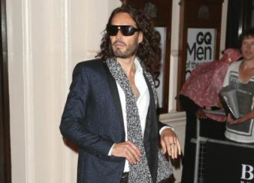 Russell Brand Urges Men To Communicate About Mental Health