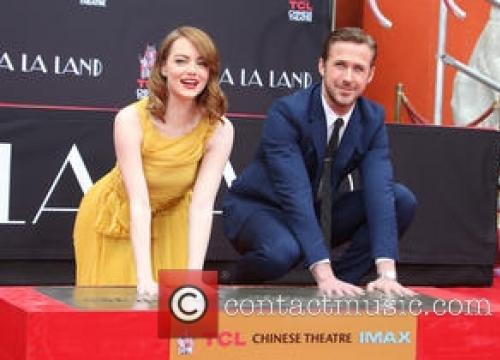 Ryan Gosling & Emma Stone Wrap La La Land Press Tour With Hand And Footprint Ceremony