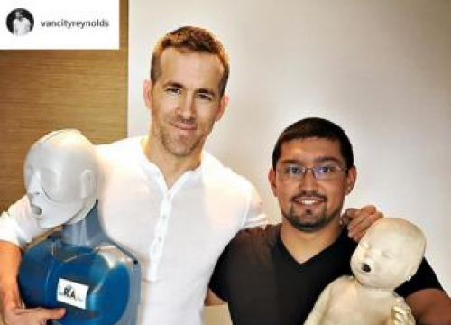 Ryan Reynolds Saved His Nephew's Life
