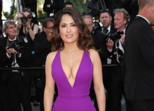 Salma Hayek: It's 'Exciting' Posing Nude