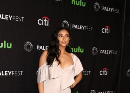 Shay Mitchell Kills Germs To Stay Healthy