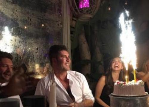 Simon Cowell's Surprise Birthday Bash