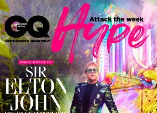 Elton John 'Grateful' For Years Of Sex And Drugs