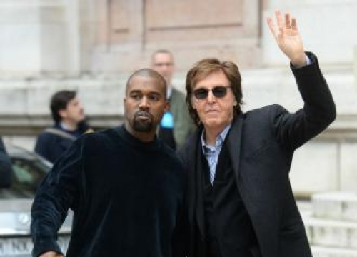 Sir Paul McCartney flattered by Kanye West's approach