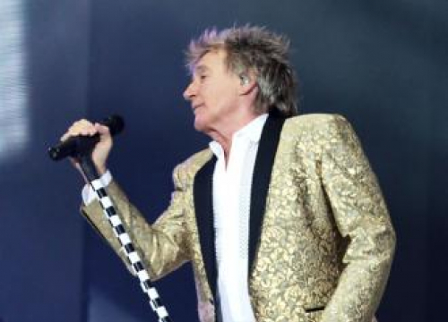 Sir Rod Stewart Never Expected To Be A Father Late In Life