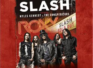 Slash - Live At The Roxy 25.9.14 (Featuring Myles Kennedy & The Conspirators) Album Review