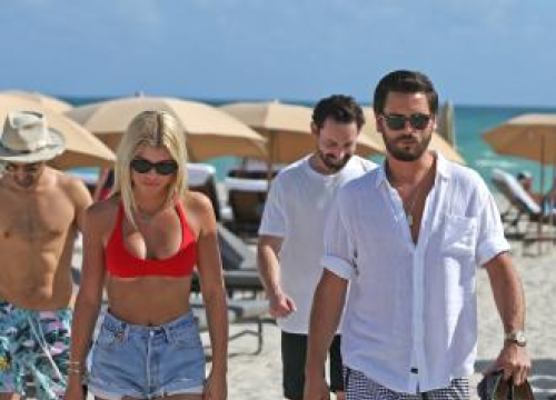 Scott Disick And Sofia Richie Are Loved Up