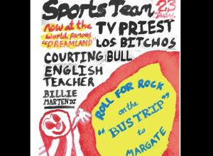 Dreamland Summer Series: Sports Team's Bus Trip All-Dayer, 23rd July