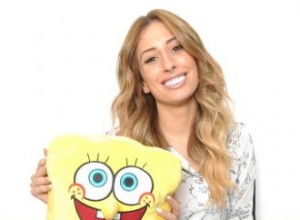 Stacey Solomon stars in The SpongeBob Movie: Sponge Out of Water