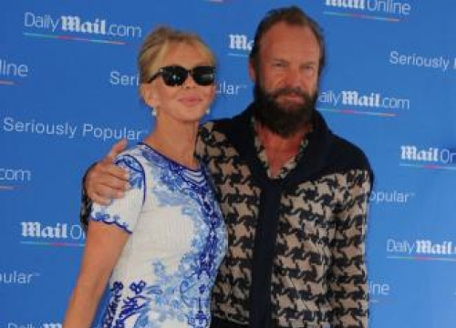 Sting and Trudie Styler still 'like each other'