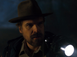 David Harbour Teases