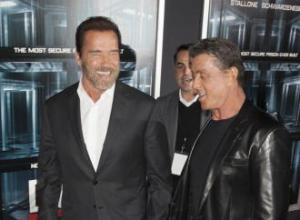 Sylvester Stallone and Arnold Schwarzenegger inspired each other
