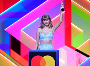 Who made history at the 2021 Brit Awards?