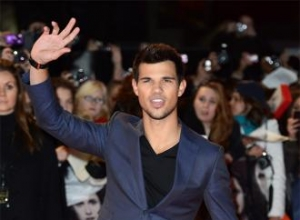 Taylor Lautner scared of mice