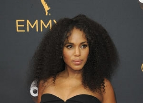 Kerry Washington Brings Her First Son Caleb Into The World