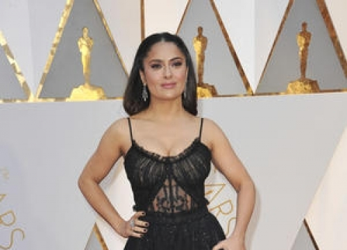 Salma Hayek Was In The Middle Of Oscars Drama