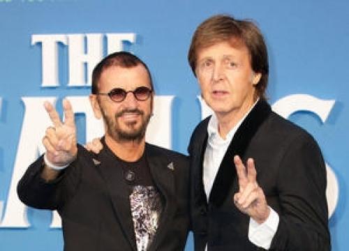 Paul Mccartney And Ringo Starr Reunite For Studio Session