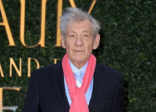 Sir Ian Mckellen Performing One Man Show In London For Charity