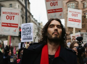 Russell Brand Not Voting in General Election, Though Backs Greens