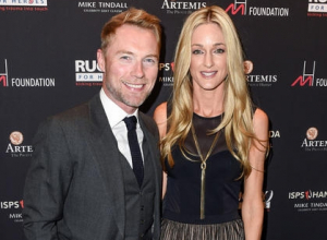 Storm Keating and Ronan Keating