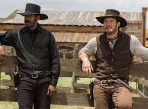 Washington And Pratt Ignore The Serious Themes In The Magnificent Seven